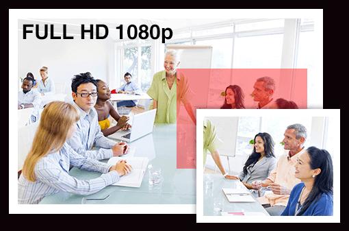 Выходное разрешение Full HD 1080p